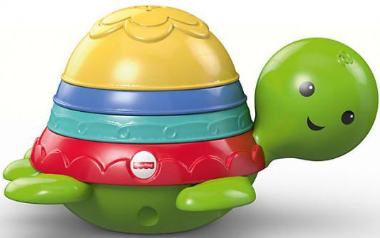 """Пластмассовая игрушка для ванны Fisher Price """"Черепашка-пирамидка"""""""