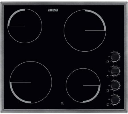Варочная панель электрическая Zanussi ZEV56140XB черный