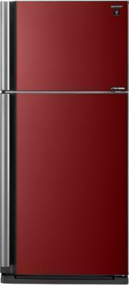 Холодильник Sharp SJXP59PGRD красный replacement projector lamp bulb an p25lp for sharp xg p25x