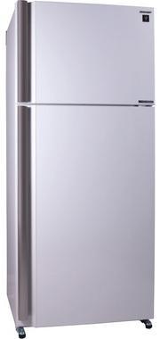Холодильник Sharp SJXE59PMWH белый электробритва panasonic panasonic es st25k