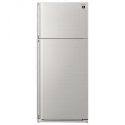 Холодильник Sharp SJXE55PMWH белый холодильник sharp sjxe55pmsl