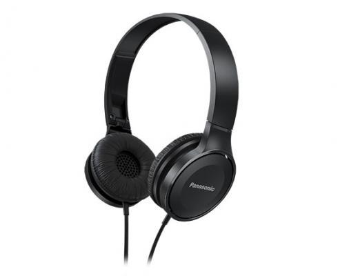 Наушники Panasonic RP-HF100GC-K черный panasonic rp hde3mgc k in ear earphone stereo sound headphones headset music earpieces with microphone earphones super bass