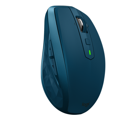 Мышь беспроводная Logitech MX Anywhere 2S Mouse синий USB + Bluetooth 910-005154 мышь logitech mx anywhere 2 wireless mouse 910 004374