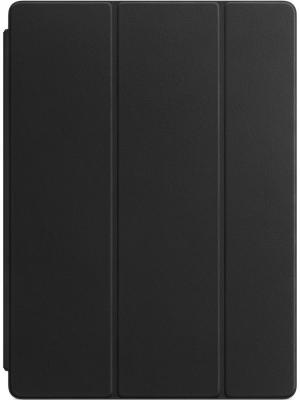 Чехол Apple Leather Smart Cover для 12.9 iPad Pro черный MPV62ZM/A