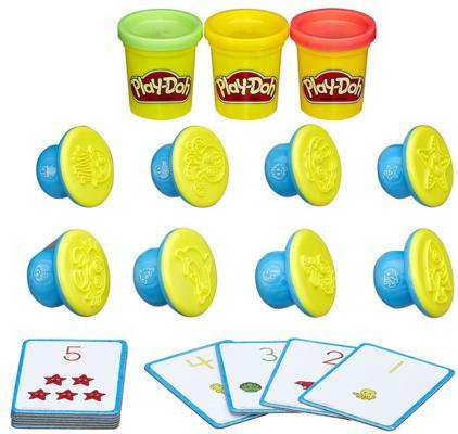Купить Набор для лепки HASBRO Цифры и числа 3 цвета, Наборы Play-Doh Hasbro