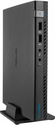 ASUS Mini PC E510-B265A Nettop Intel Pentium G3250T(2.8Ghz)/4096Mb/500Gb/noDVD/Int:Intel HD/WiFi/war 1y/0.8kg/black/DOS + 1*External Wi-Fi antenna