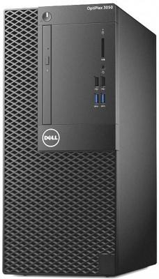 Системный блок DELL OptiPlex 3050 MT i3-6100 3.7GHz 4Gb 1Tb HD 530 DVD-RW Win7Pro Win10Pro клавиатура мышь черный 3050-2070