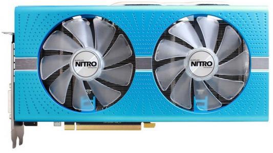 Видеокарта 8192Mb Sapphire RX 580 NITRO+ SE DUAL PCI-E DVI HDMI DP 11265-21-20G Retail видеокарта sapphire radeon rx 460 nitro oc 1175mhz pci e 3 0 4096mb gddr5 128bit dvi dp hdmi hdcp 11257 02 20g