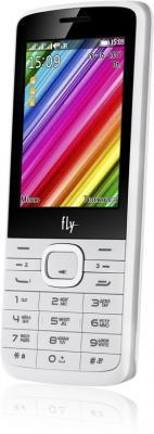 """Мобильный телефон Fly TS113 белый 2.8"""" 32 Мб 3 симкарты"""