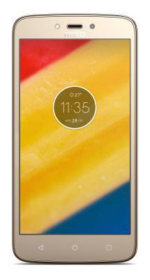 "Смартфон Motorola Moto C золотистый 5"" 16 Гб LTE Wi-Fi GPS 3G XT1754"