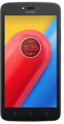 Смартфон Motorola Moto C Plus 16 Гб черный (PA800111RU)