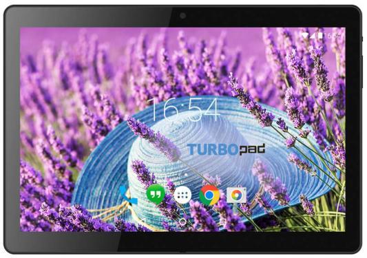 "Планшетный компьютер ""TurboPad 1015"" черный 3G {10.1""1024х600,8Gb,1Gb,Wi-Fi,Bluetooth,3G,0.3x2Mpx,Android 6.0}"