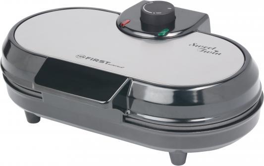 Вафельница First FA-5305-2-WI серый