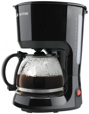Кофеварка Vitek VT-1528(BK) черный кухонный комбайн vitek vt 1437 bk черный