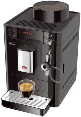 Кофемашина Melitta Caffeo F 531-102 Passione Onetouch черный кофемашина melitta caffeo passione f 530 101 серебристая черная