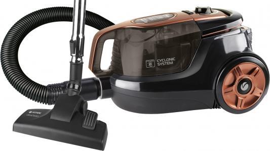 Пылесос Vitek VT-8117 BK сухая уборка чёрный выпрямитель волос vitek vt 8402 bk 35вт чёрный