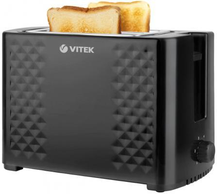 купить Тостер Vitek VT-1586 BK чёрный дешево