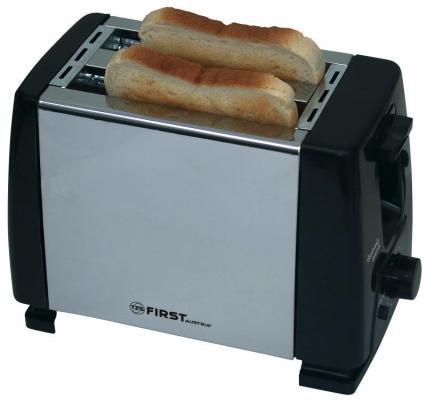 Тостер First FA-5366-CH серый чёрный тостер first fa 5367 1 чёрный