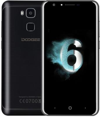 "Смартфон Doogee Y6c черный 5.5"" 16 Гб LTE Wi-Fi GPS 3G Y6C_Black"
