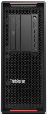 Фото Системный блок Lenovo ThinkStation P710 2xE5-2640v4 2.4GHz 8Gb 1Tb DVD-RW Win10Pro клавиатура мышь черный 30B6S0L300 системный блок