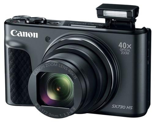 Фотоаппарат Canon PowerShot SX730 HS 20.3Mp 40xZoom черный 1792C002