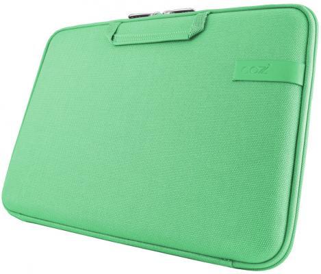 "все цены на Сумка для ноутбука MacBook Pro 15"" Cozistyle Smart Sleeve Canvas зеленый CCNR1507 онлайн"