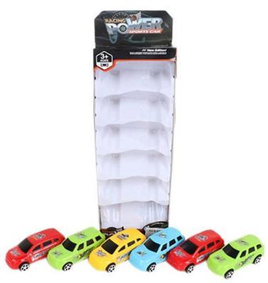 Автомобиль Shantou Gepai Racing Power цвет в ассортименте 6 штук, ассортимент