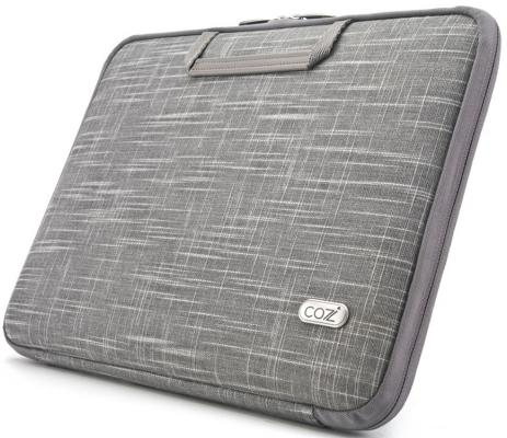 Сумка для ноутбука MacBook Air 11 Cozistyle Linen SmartSleeve полиэстер ткань серый CSLNC1102