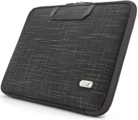 "цена Сумка для ноутбука MacBook Air 11"" Cozistyle Linen SmartSleeve ткань черный CSLNC1103"