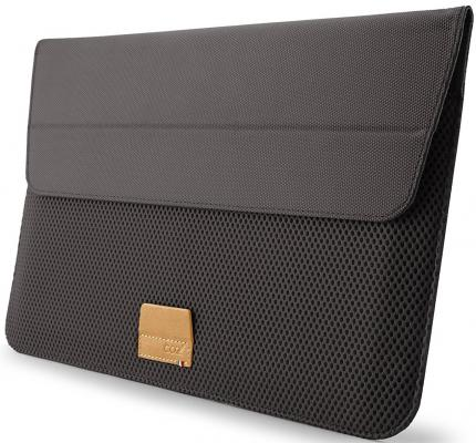 Чехол для ноутбука MacBook Pro 13 Cozistyle ARIA Stand Sleeve поликарбонат кожа серый CASS1323