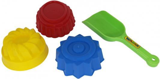 Песочный набор Полесье №421 4 предмета в ассортименте ролевые игры полесье сервировочный столик