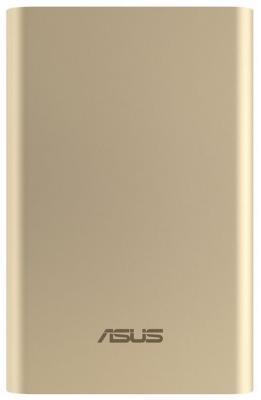Портативное зарядное устройство Asus ZenPower ABTU011 10050мАч золотистый 90AC0180-BBT018 внешний аккумулятор asus zenpower abtu005 10050мaч синий [90ac00p0 bbt029 79]