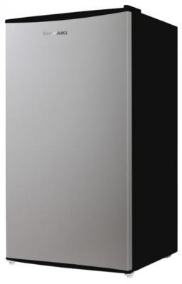 Холодильник SHIVAKI SDR-082S серебристый холодильник shivaki sdr 082s однокамерный серебристый