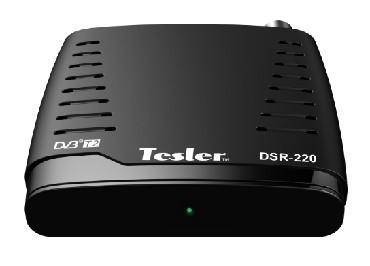 Тюнер цифровой DVB-T2 TESLER DSR-220