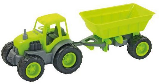 Трактор ZEBRATOYS с прицепом 15-10174 в ассортименте в ассортименте вязальные машины для дома в беларуссии