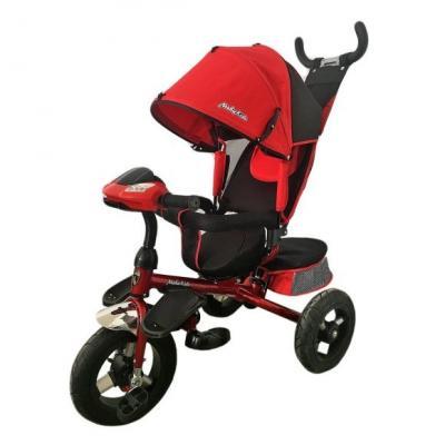 Велосипед Moby Kids Comfort-Ultra 12*/10* красный велосипед