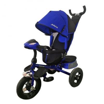 Велосипед Moby Kids Comfort-Ultra 12*/10* синий