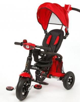 "Велосипед Moby Kids Junior-2 10""/8"" красный T300-2"
