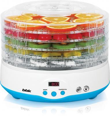 Сушилка для овощей и фруктов BBK BDH204D голубой белый