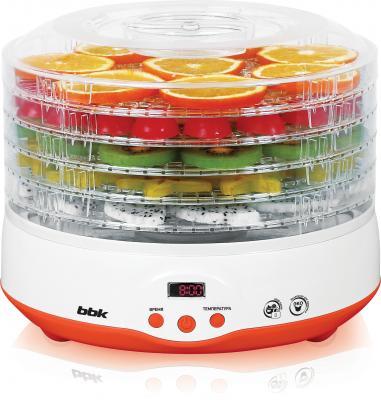 Сушилка для овощей и фруктов BBK BDH204D белый оранжевый