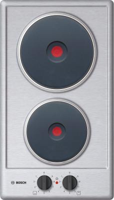 Варочная панель электрическая Bosch PEE389CF1 серебристый электрическая варочная панель bosch pkf645ca1e