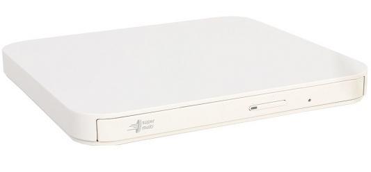 Внешний привод DVD±RW LG GP95NW70 USB 2.0 белый внешний оптический привод lg bp50nb40 bp50nb40