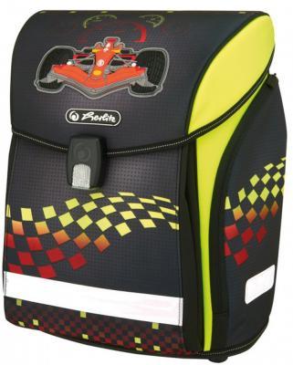 Ранец ортопедический Herlitz New Midi Formula 1 16 л черный