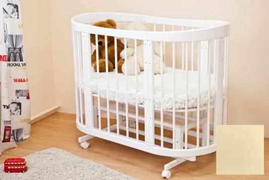 Купить Кроватка-диван Красная Звезда Паулина-2 С422 (ваниль), Красная звезда, дерево, Кроватки без укачивания