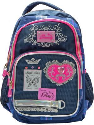 Городской рюкзак Action! AB11117 синий розовый