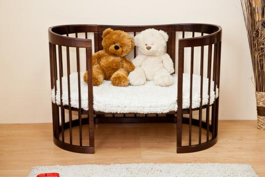 цены Кроватка-диван Красная Звезда Паулина-2 С422 (шоколад)