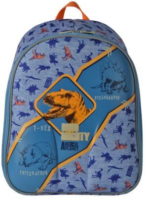 Купить Рюкзак с анатомической спинкой Action! Animal Planet Дино 15 л голубой AP-ASB4614/2/17, полиэстер, Ранцы, рюкзаки и сумки