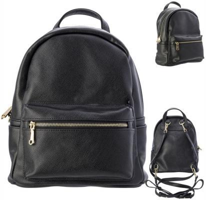 Рюкзак-мини Action! AB11301/BK черный рюкзак action мягкий 37х29х15см черный