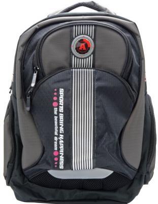 Городской рюкзак Action! SPORT серый черный AB11128