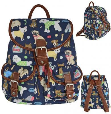 Рюкзак Action! с принтом Собачки AB2012/1 разноцветный